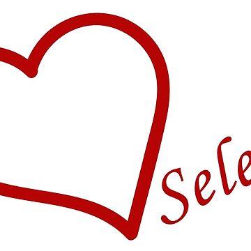 Love Selena Gomez by Tamymoldavsky
