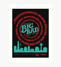 Big Bad Sunnydale Art Print
