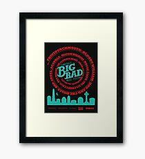Big Bad Sunnydale Framed Print