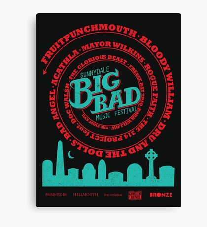 Big Bad Sunnydale Canvas Print
