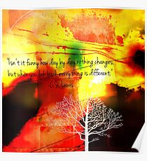 Everthing Is Different Poster