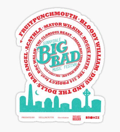 Big Bad Sunnydale Sticker