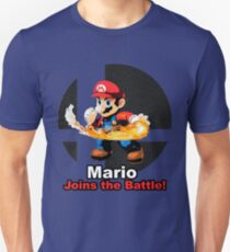 Mario Joins the Battle! T-Shirt