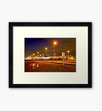Railyard Framed Print