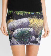 Tree and Boulders Mini Skirt