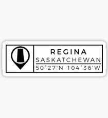 Regina Sticker