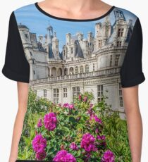 Château de Chambord, France Women's Chiffon Top