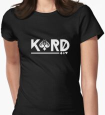 Kard - Korean Pop Group Women's Fitted T-Shirt