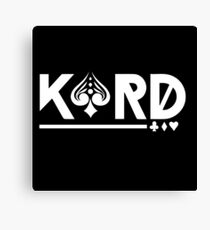 Kard - Korean Pop Group Canvas Print