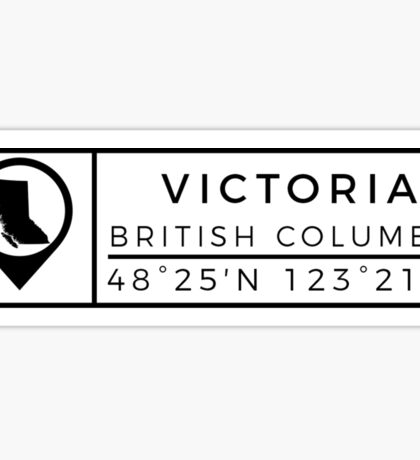 Victoria British Columbia Sticker