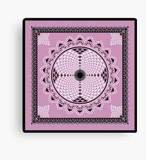 SACRED GEOMETRY - SAHASRARA CHAKRA - BUDDHISM - SPIRITUALITY Canvas Print