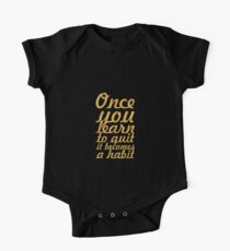 Once you learn... Inspirational Quote One Piece - Short Sleeve