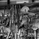 Wall at Morrisons Sawmill , Strahan , Tasmania by phillip wise