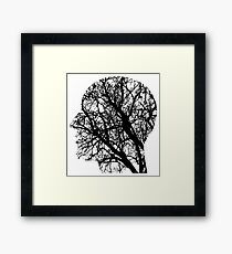 Human Nervous System As Tree Framed Print