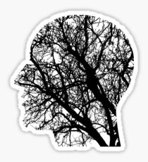 Human Nervous System As Tree Sticker