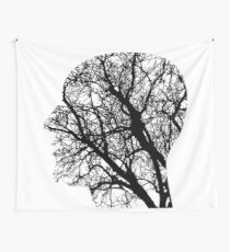 Human Nervous System As Tree Wall Tapestry