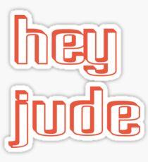 hey jude john lennon - Bodbeli Sticker