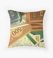 Monopoly Empire Throw Pillow