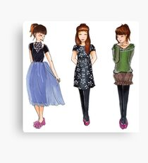 Outfits Canvas Print