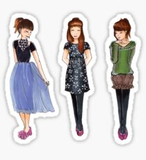 Outfits Sticker