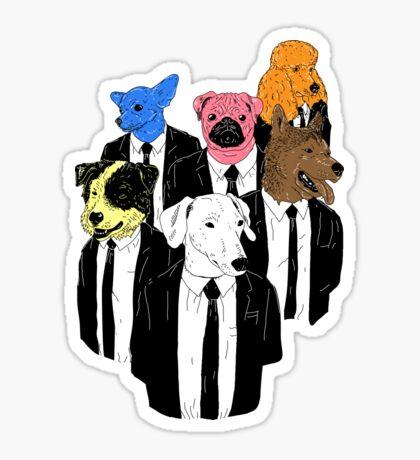 Real Reservoir Dogs Sticker