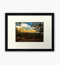 Virginia Kendall Overlook Framed Print