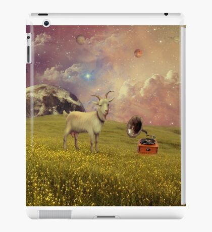 Transdimensional Space Goat iPad Case/Skin