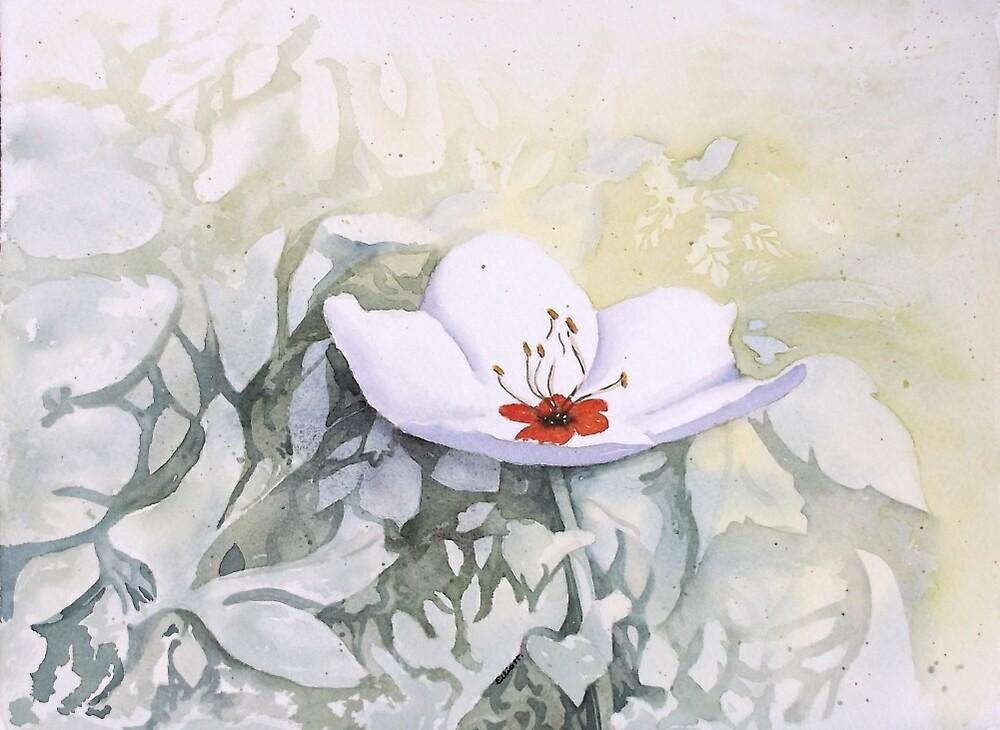 Blossoming at Sean's by Pat  Elliott