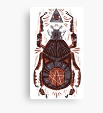 Lienzo All Seeing Eye - Beetle One - Rojo