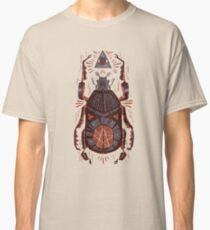 All Seeing Eye - Beetle One - Red Classic T-Shirt