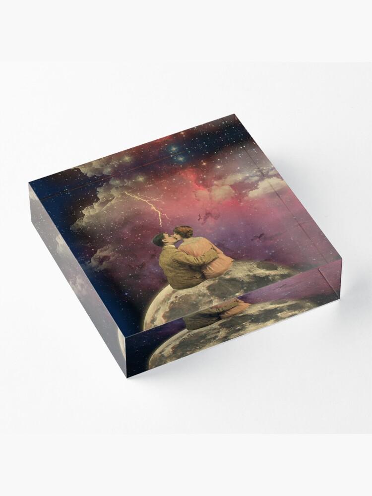 "Alternate view of ""Lovers"" Acrylic Block"