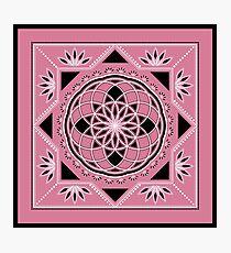SACRED GEOMETRY - TUBE TORUS - FLOWER OF LIFE - SPIRITUALITY Photographic Print