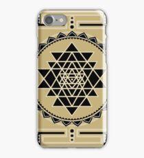 SACRED GEOMETRY - SHRI YANTRA - SPIRITUALITY - COSMIC ENERGY CONDUCTOR iPhone Case/Skin