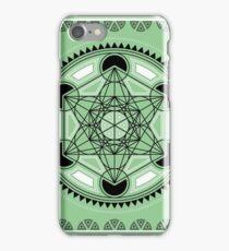SACRED GEOMETRY - METATRONS CUBE - FLOWER OF LIFE - SPIRITUALITY iPhone Case/Skin