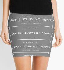 Brains studying Brains Mini Skirt