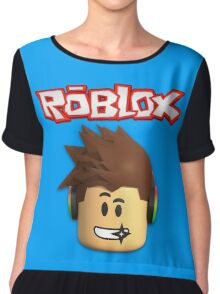 Roblox Character Head Chiffon Top