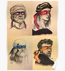 TMNT as Real Masters Poster