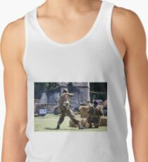 World War 2 Battle Reenactment Tank Top