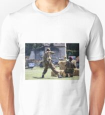 World War 2 Battle Reenactment Unisex T-Shirt