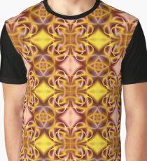 1. Like a Silk: Golden Rose Idyll Graphic T-Shirt