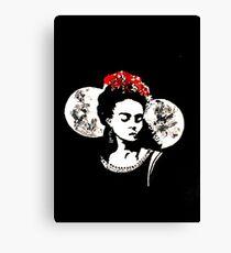 Frida la Vida Canvas Print