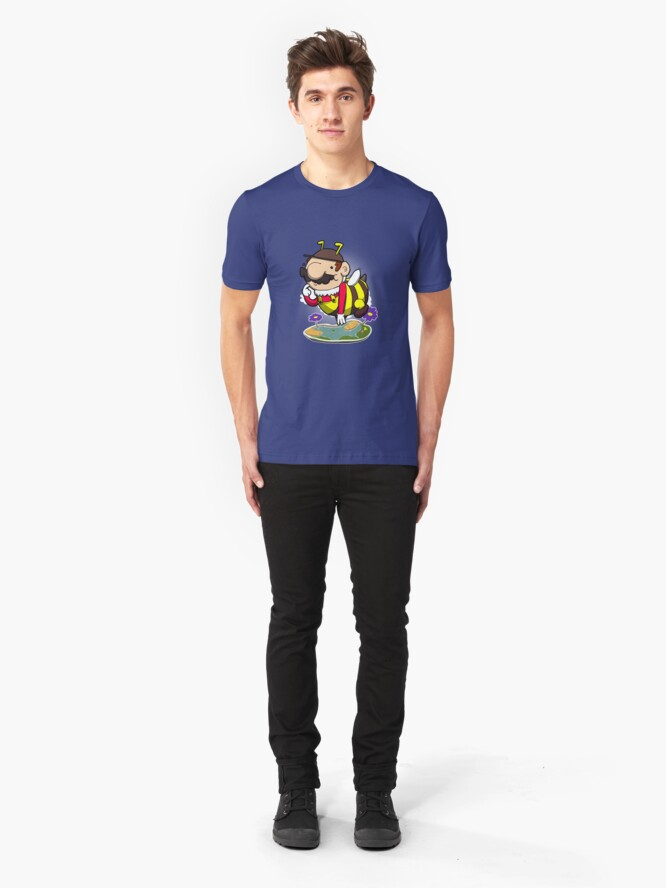 Alternate view of Mama Bee-a! Slim Fit T-Shirt