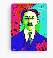 Paris Exhibition - Electric Man - 122916 Canvas Print