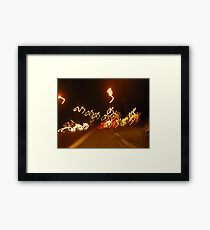 M's Bicycling Framed Print