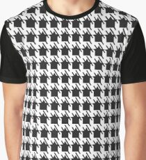 MODERN CROWN -black and white Graphic T-Shirt