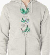 Flora y fauna Zipped Hoodie