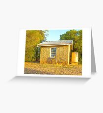 Little old country library.... Greeting Card