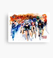 Feel the pain! TDF Sprint to Finish Canvas Print