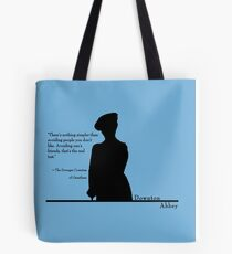 Avoiding People Tote Bag