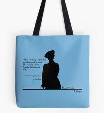 Avoiding People Tote Bag